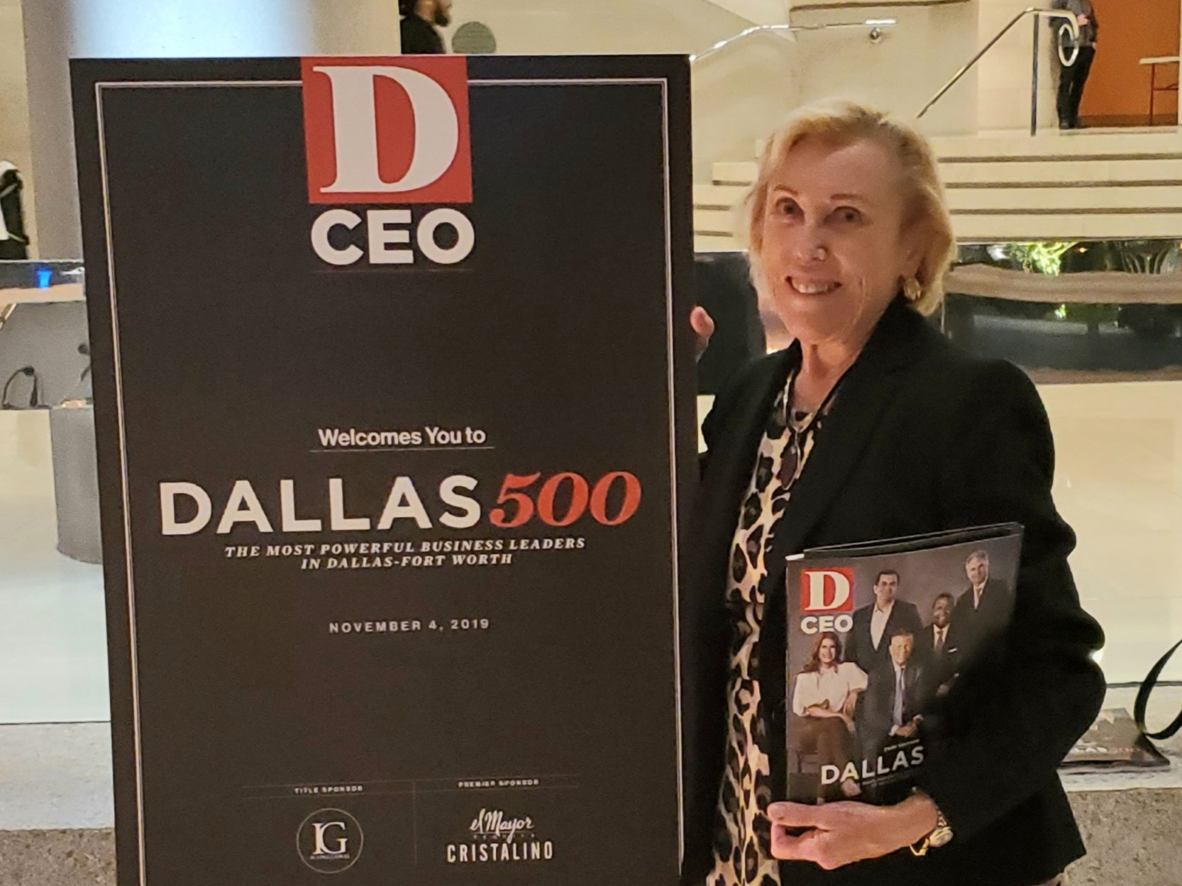 Marianne Fazen Named To Dallas 500 Most Powerful Business Leaders